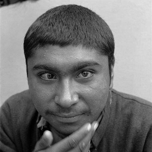 jongen, India, 1996