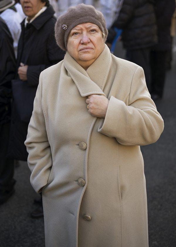 vrouw, Catania, 2015