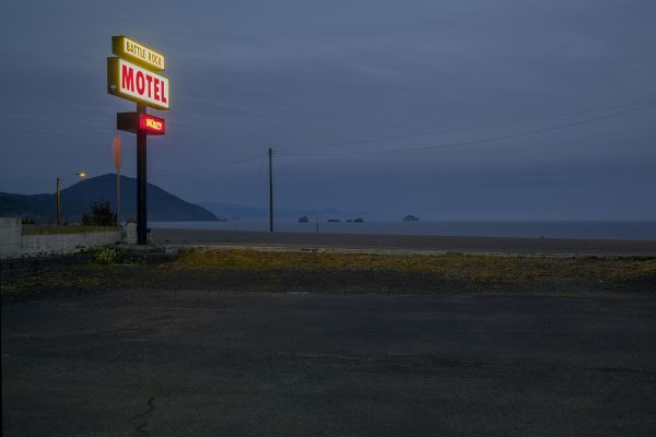 motel, Port Orford, 2009
